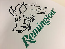 Remington gun hunting vinyl sticker decal