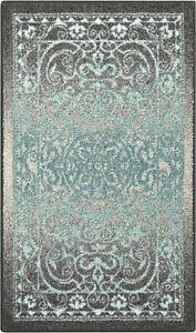 "Maples Rugs Pelham Vintage Kitchen Rugs Non Skid Accent Area Carpet 20""x37"""