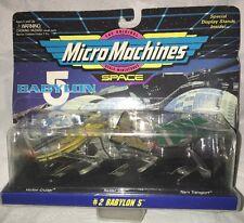 Micro Machines Babylon 5 Galoob 65620 Set #2 1994 NOS Original Packaging Space