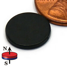 "CMS Magnetics® 10 pieces Neodymium Magnets N45 1/2x1/16"" Epoxy Coated"