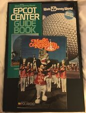 Vintage Lot 3 Walt Disney World Pamphlets Leaflets 1983 Epcot Magic Kingdom 80s