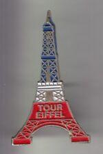 RARE PINS PIN'S .. TOURISME TOUR EIFFEL TOWER PARIS 75 TRICOLORE 2 3D ~CZ