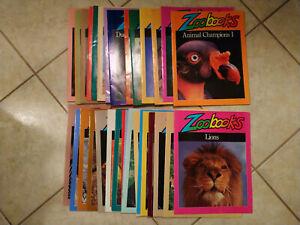 Vintage ZooBooks Kids Magazine (Lot of 32) Teacher Homeschool Science Nature
