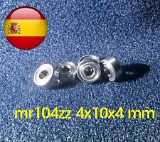 Mr104zz mr104 zz 4x10x4 mm 4*10*4 mm rodamiento calidad Abec envío rápido España