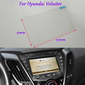 7 inch Car GPS Navigation Screen HD Glass Protective Film For Hyundai Veloster