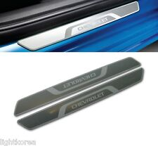 Genuine Door Sill Plates Scuff 2Pcs 1Set 95954000 For GM Chevrolet Vehicle