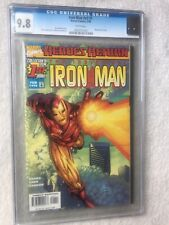Iron Man Heroes Return Vol 3 #1 Marvel February 1998 CGC 9.8 white pages
