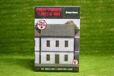 Llamas de la guerra de Dieppe Casa Pintado De Mesa terreno 15mm BB155