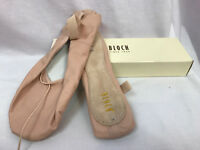 Bloch Dansoft S0205L Adult Full Sole Pink Ballet Shoes, Womens Size 8.5 D, New