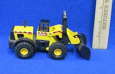 1998 Tonka Maisto Yellow Diesel Plow Truck Toy Scoop Front # 728 Metal & Plastic