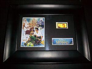 LITTLE MERMAID Framed Movie Film Cell Memorabilia Compliments poster dvd