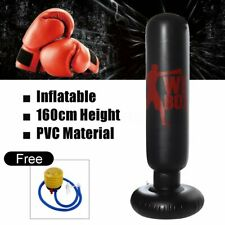 160cm PVC Inflatable Boxing Punching Home Gym Fitness Standing Ba