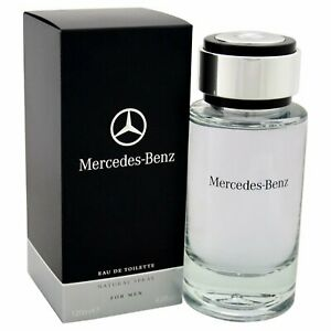 Mercedes Benz   Eau de Toilette   Spray for Men   Woody Spicy Scent   4.0 oz