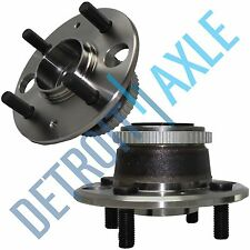 Set of (2) New Rear Driver and Passenger Wheel Hub and Bearing Assembly w/ ABS