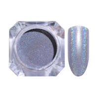 1g Holographicss Glitter Nail Art Powder Dust Laser  Pigment Decoration