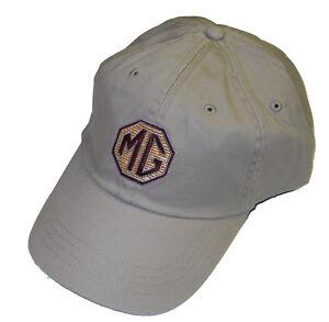 MG Khaki embroidered hat - MGB MGA Midget etc