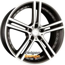 4x TEAM DYNAMICS LE MANS Matt-Graphite Polished 8,5x18 ET45 5x114.3 ML73.1