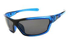 Mens Wrap Around Polarized Sunglasses UV400 Outdoor Sports Eyewear- Blue NT01