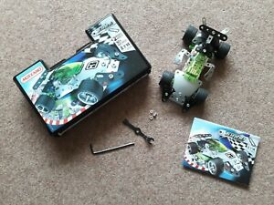 Meccano Turbo 3350A 2 Models 90+ parts Complete Set with Box and Instructions