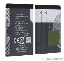 3.7V 600mAh BL-5C Rechargeable Battery For Nokia Mobile Phone BL5C BL 5C