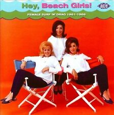 Hey Beach Girls: Female Surf 'n' Drag by Various Artists (CD, Oct-2010, Ace...