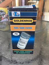 Goldenrod 595 Spin On Fuel Tank Filter, 50 psi.  Lot Of 3