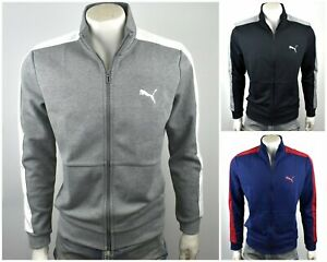 Puma Men's Full Zip logo Sweatshirt Track Jacket