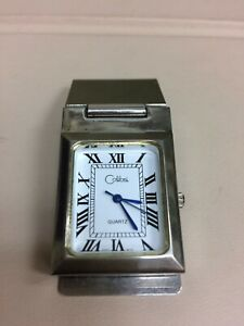 COLIBRI MONEY CLIP  WATCH FRENCH FOLD  STAINLESS STEEL