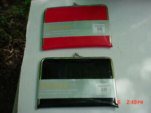 Lot of 2   C.R. GIBSON Photo Clutch Album Holds 4 x 6 20 PHOTOS