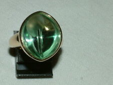 massiver Sogni D'oro Ring mit Fluorit, Gr. 51, 375 Gelbgold  NP. 899€