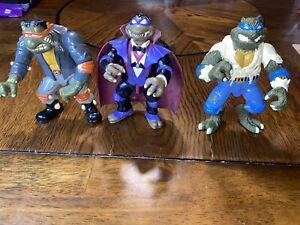TMNT 1993 Universal Studios Monsters Lot of 3 Teenage Mutant Ninja turtles Toys