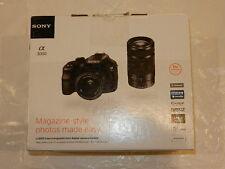 Box for Sony Alpha A3000 ILCE-3000 2-Lens Bundle Camera