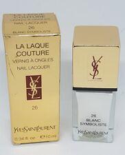 Yves Saint Laurent La Laque Couture Nail Lacquer - SHADE 26 BLANC SYMBOLISTIC