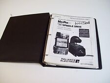 Reliance Electric D-3867-1 Max Pak-Plus Spindle Drive Complete Manual- Free Ship