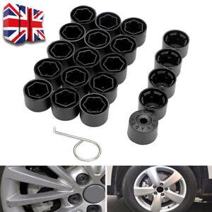 20X Wheel Bolt Nut Caps Covers For Volkswagen VW Golf Bora Passat Jetta 17mm UK