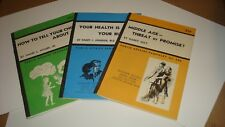 Public Affairs Pamphlet Lot of Three(3) 1968 How To Tell Your Child About Sex