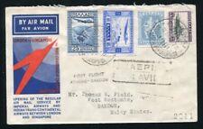 GREECE THAILAND IMPERIAL AIRWAYS AIRMAIL 1933