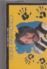 Don Fanscisco-One Heart At A Time music Cassette