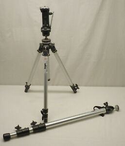 Manfrotto Bogan Prefessional Camera 3001 Tripod w 3265 Pistol Grip 3018 MonoPod