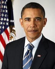 44TH U.S PRESIDENT BARACK OBAMA PORTRAIT 8X10 PHOTO