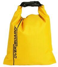 Busta impermeabile Dry Pouch da 1lt 15x11,5cm colore giallo | Marca OverBoard |