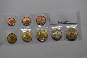 POLAND 2006 FANTASY EURO PATTERN COIN SET B36 #64.