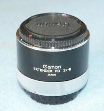 Canon Extender FD 2x-B - Near Mint - Tests Fine - (for lenses under 300mm)
