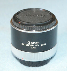 Canon Extender FD 2x-B - Near Mint - Tests Fine - (for lenses under 300mm)