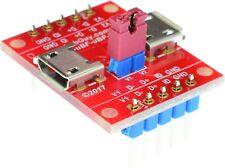 micro USB2.0 Type B Female to micro USB2.0 Type B Female pass-through adapter