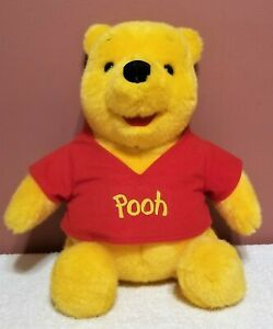 "Mattel - Talking Winnie The Pooh, Does Not Work, Made 1994, 15"", Tags Attached"