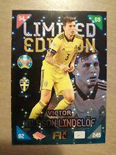 Uefa euro 2020 2021 kick off Adrenalyn xl  limited card Victor Nilsson Lindelöf