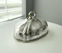 Antique Saint Francis Hotel Silver Silverplate MEAT DOME Reed & Barton