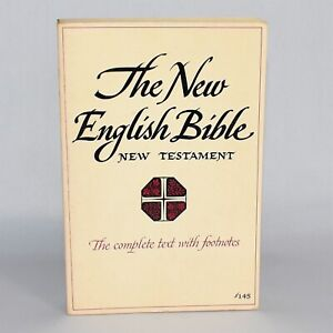 Vintage Oxford The New English Bible New Testament Softcover 6th Printing 1962