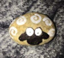 Sheep Rock!! Hand Painted Original Rock Stone Art